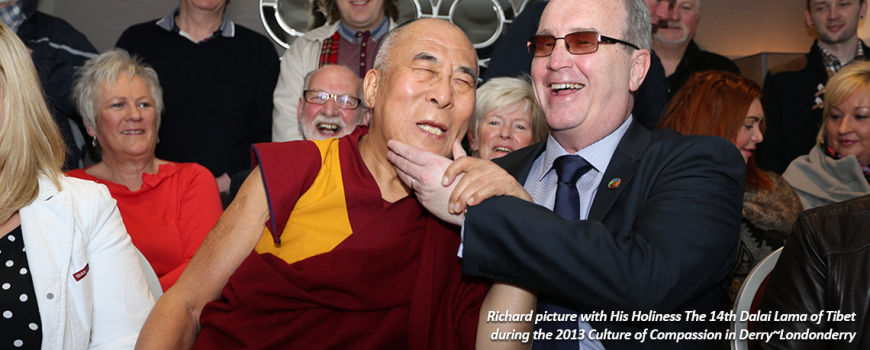 Richard And The Dalai Lama | Children in Crossfire