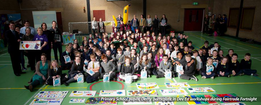 Children Take Part In Development Education Workshops in Ireland | Children In Crossfire