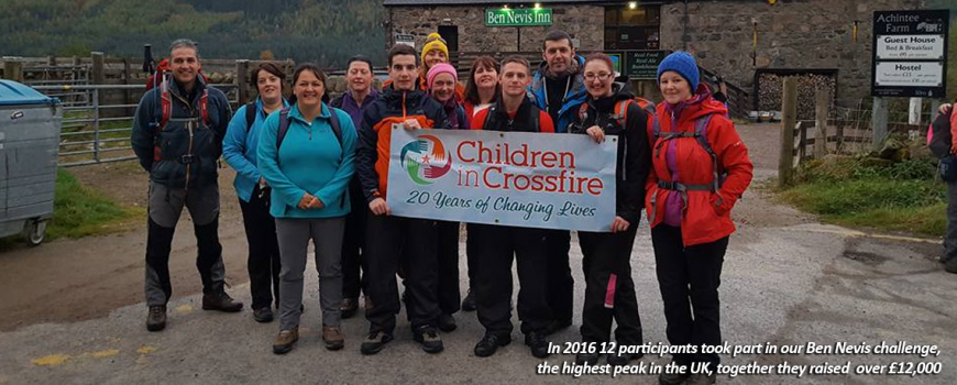 Charity Events | Children in Crossfire