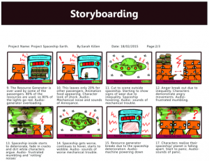 Globot Storyboard