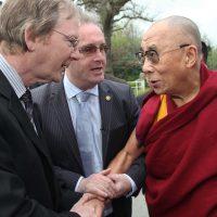 Joe Murray Greets the Dalai Lama