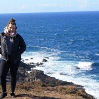 Alyssa at Malin Head