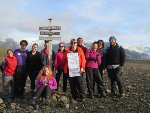 Fundraising for Trek Iceland | Children In Crossfire