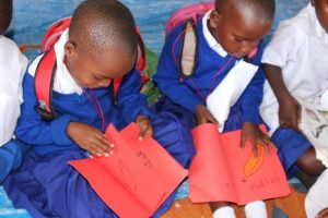 Children Read In Pre-Primary School | Children In Crossfire