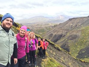 Group Photo Of The 2016 Iceland Trek | Children In Crossfire