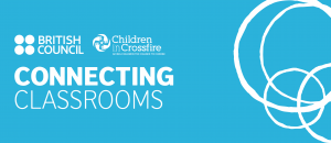 Connecting Classrooms, British Council and Children in Crossfire Logos