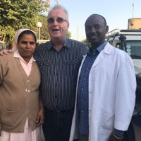 Richard visits St Luke's Hospital, Waliso