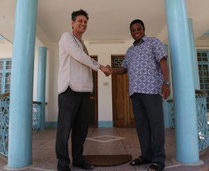 Tanzanian Country Director, Craig Ferla Meeting the Honourable Prime Minister of Tanzania, Kassim Majaliwa.