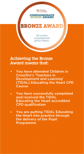 Compassionate School Award - Bronze