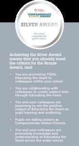 Compassionate School Award - Silver