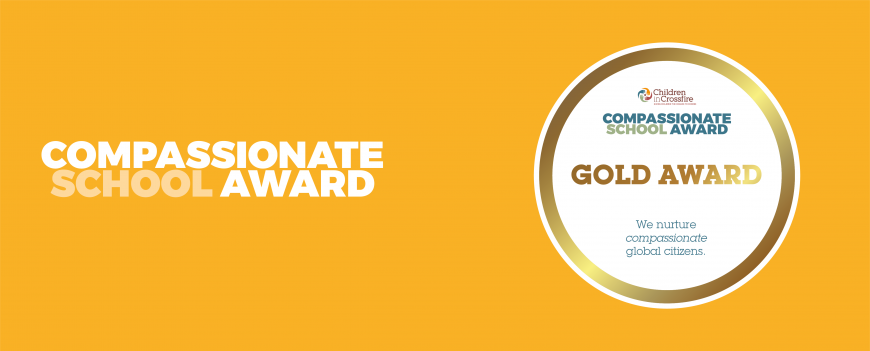 Compassionate School Award - Featured Image - Gold