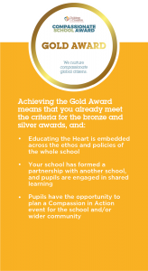Compassionate School Award - Gold