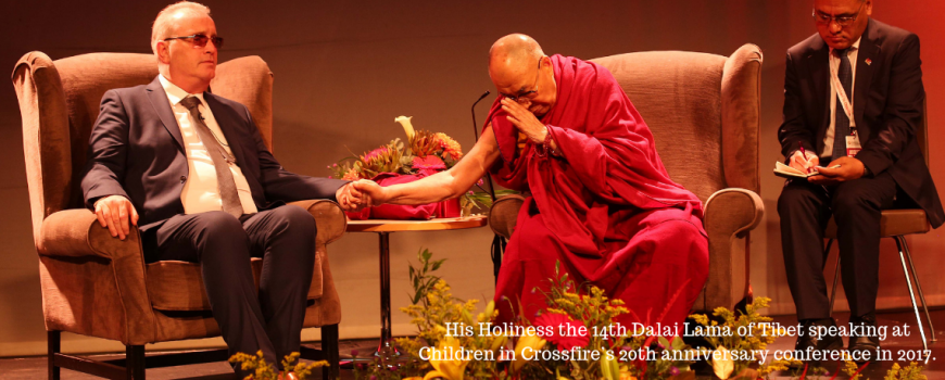 Our Patron, His Holiness the Dalai Lama - Children in Crossfire